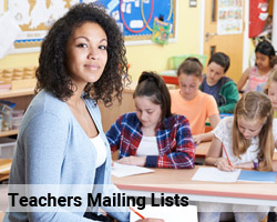 Teachers Mailing Lists